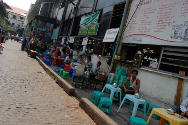 Straßenrestaurant