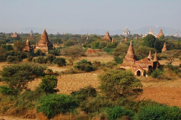 Besuchermagnet Bagan: Die alte Königsstadt umfasst über 2000 Tempel und Pagoden