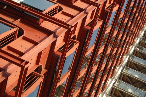 Architektur in Canary Wharf